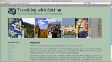 Travelling with Bettina