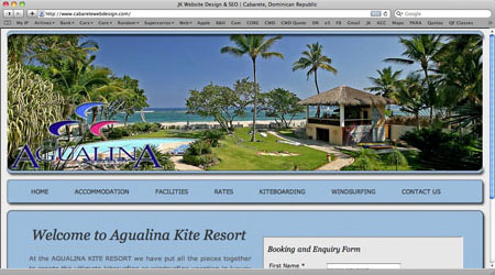 Cabarete Web Sites