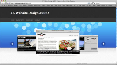 Web Site Design Cabarete