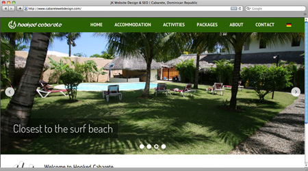 Hooked Cabarete Gets A New Look. With New Owners Comes Change And When  Walter And Jeanette Took Over Hooked Cabarete Late Last Year, A New Website  For ...